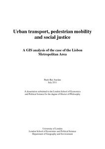 Phd thesis transport economics