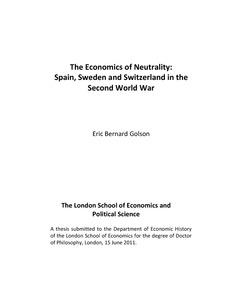 Neutrality thesis