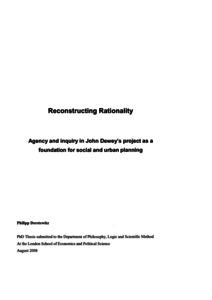 Reconstructing rationality: Agency and inquiry in John
