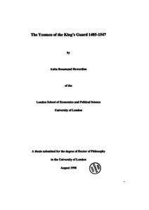 kingdom economics tudor bismark pdf