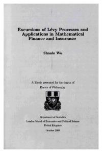 Levy Processes