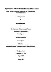 Economics pdf financial