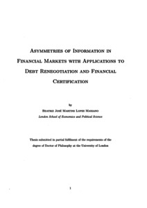 Phd thesis in financial services pdf