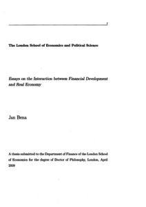 phd thesis on financial development and economic growth Graduate theses and dissertations by an authorized administrator  michael  loewy, phd  21 ict, development, and economic growth  financial market  structure and maturity on cross-border internet diffusion and finds.