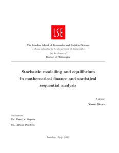 Phd thesis in banking and finance