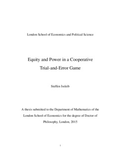thesis london school economics